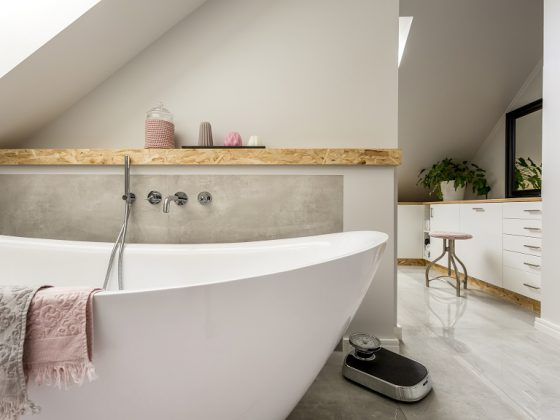 Genieten van een ensuite badkamer