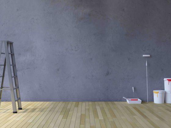 Betonlook verf gebruiken
